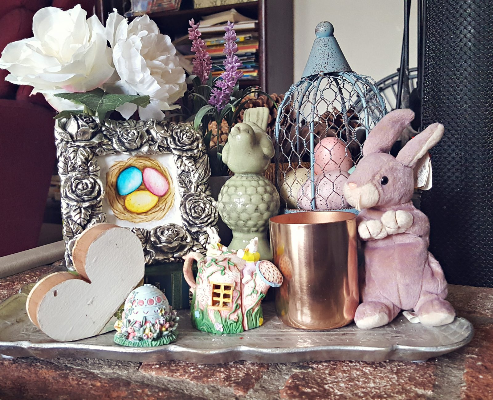 Easter Display, art, decor, Easter Eggs, painting